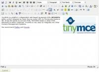 TinyMCE в textarea